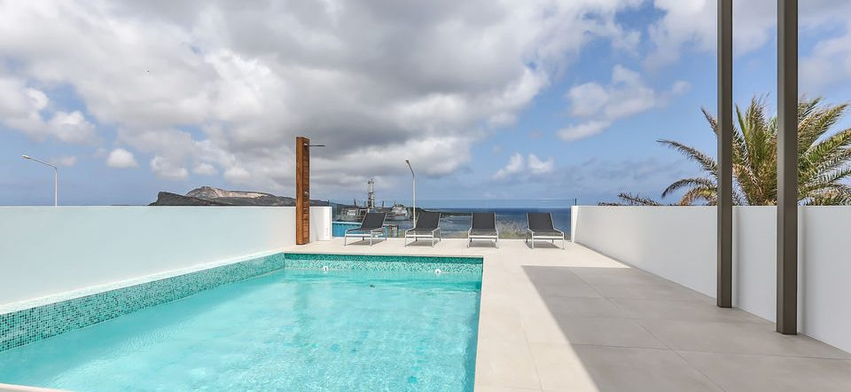 zwembad penthouse villa curacao