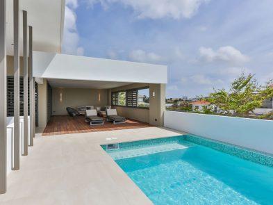 villa prive zwembad curacao