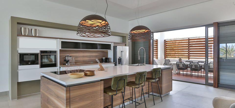 keuken luxe villa curacao