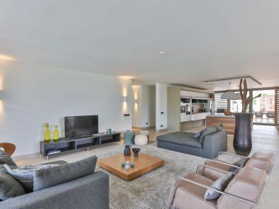 moderne woonkamer villa jan thiel