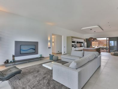 luxe woonkamer villa penthouse curacao
