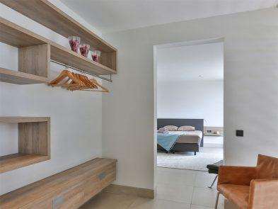 slaapkamer inloopkast villa curacao
