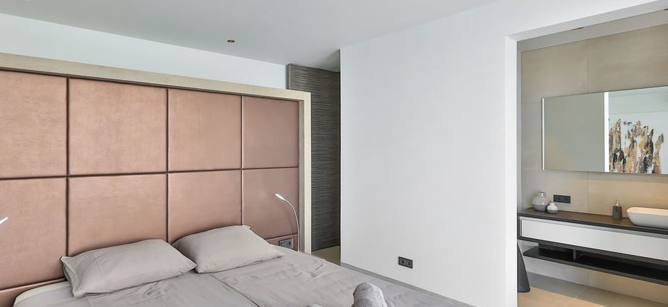 slaapkamer villa penthouse curacao