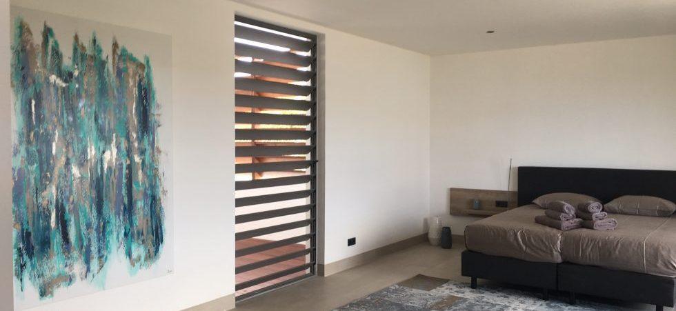 slaapkamer luxe villa penthouse curacao