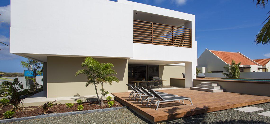 huis met tuin verblijf curacao