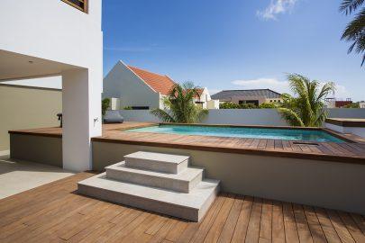 prive zwembad villa curacao