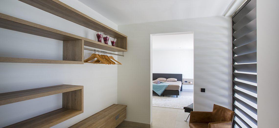 inloopkast luxe villa curacao