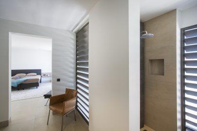 slaapkamer badkamer villa curacao