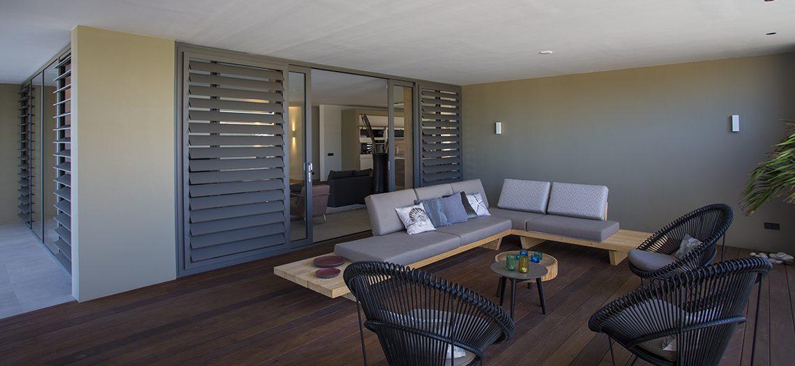 terras lounge villa curacao
