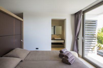 slaapkamer villa curacao