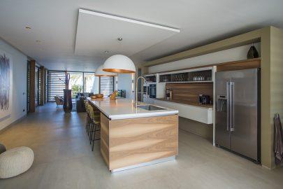 modere keuken villa vakantiewoning curacao