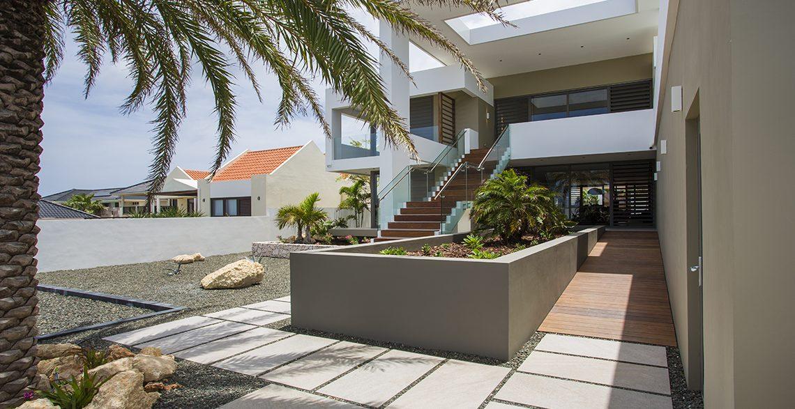tuin penthouse villa curacao