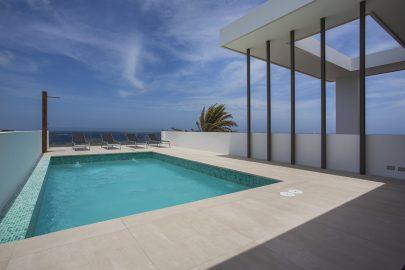 zwembad villa curacao